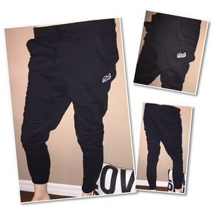 VS PINK sweatpants Black SMALL